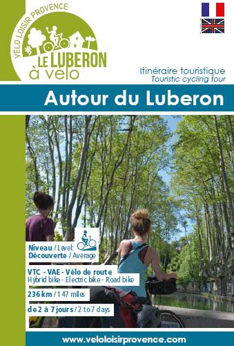 Dépliant Autour du Luberon à vélo @VLP