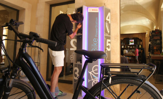 Recharging points for e-bike in Vaucluse