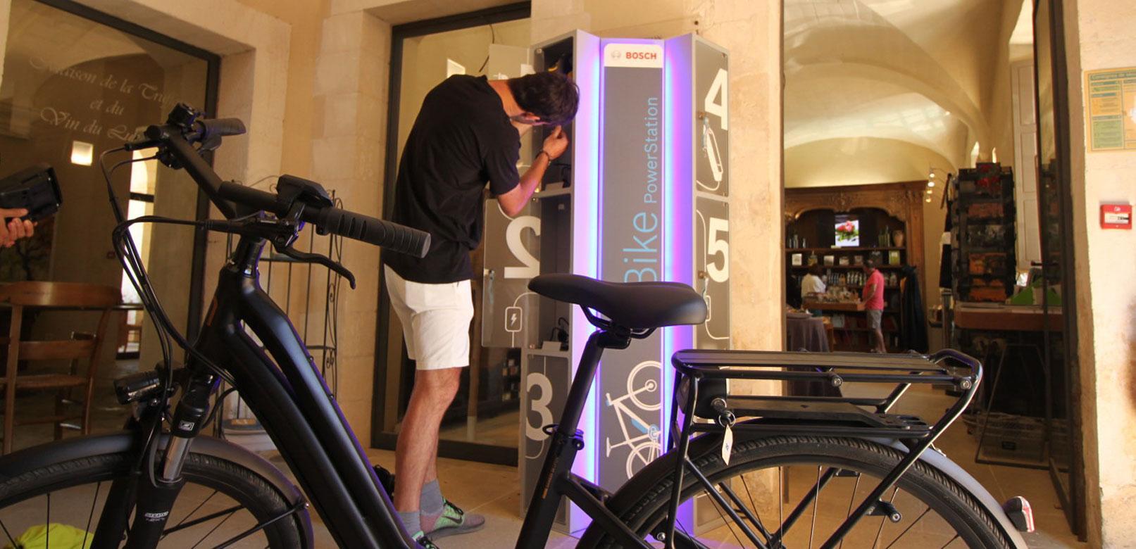 Recharging points for e-bike in Vaucluse @ Pellet