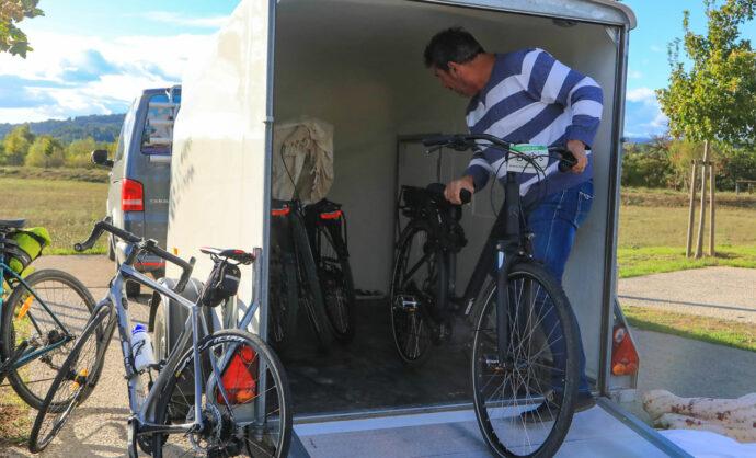 Se deplacer à vélo en Vaucluse @ Hocquel