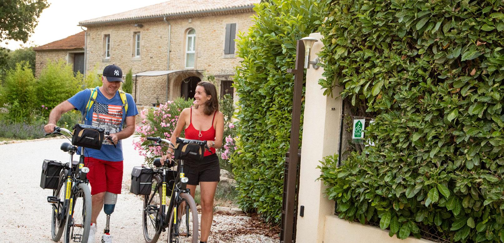 Hébergements vélo en Provence @ Hocquel