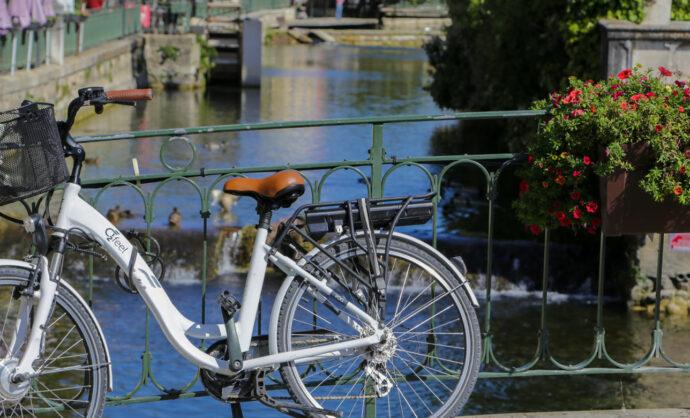 Isle sur la Sorgue à vélo @ Hocquel