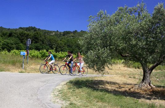 Tour du Luberon à vélo @ Hocquel