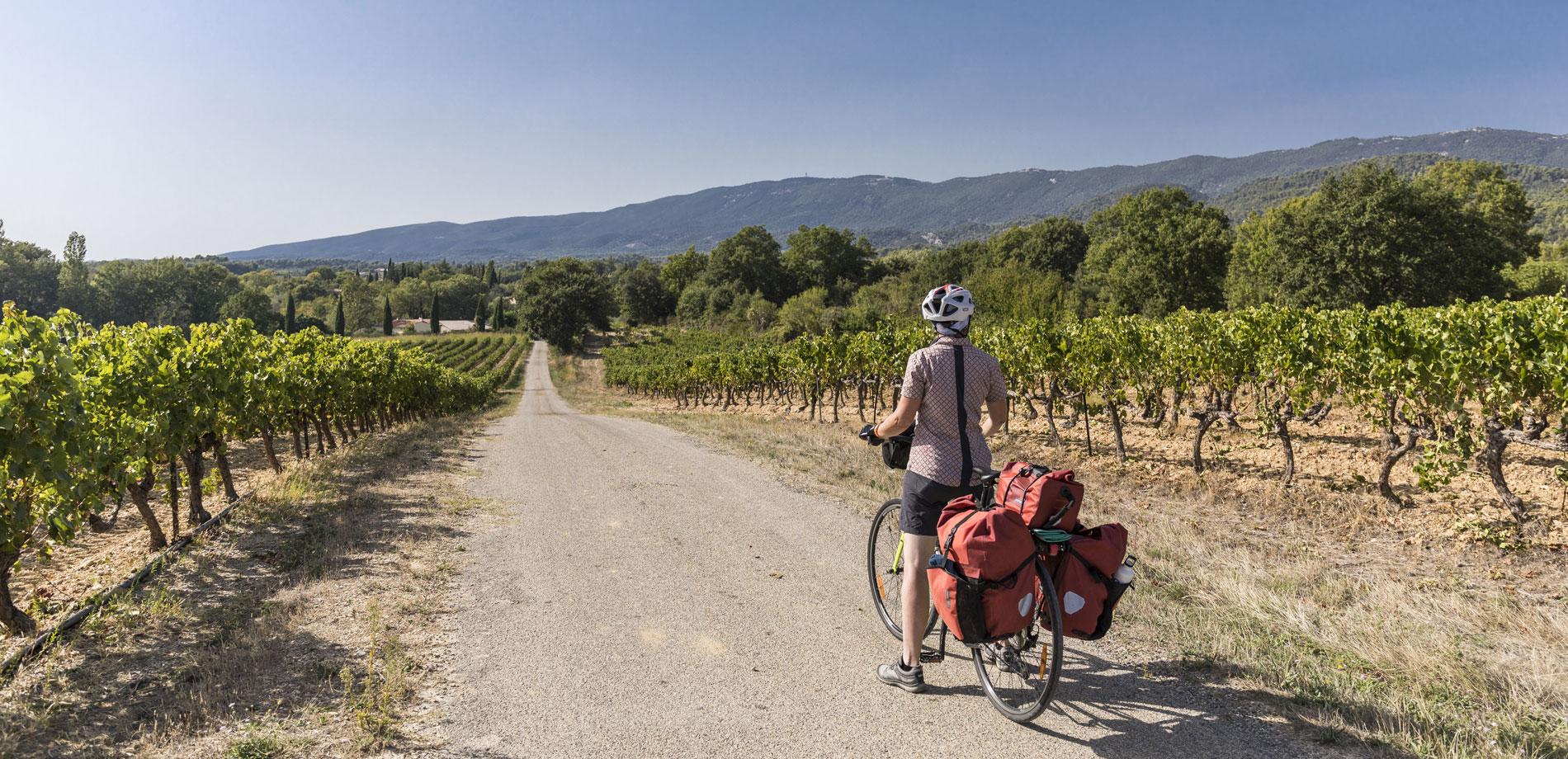 Le Luberon à vélo © Rathay