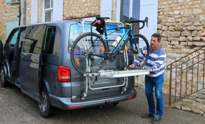 Transport de vélo en Provence @ Hocquel