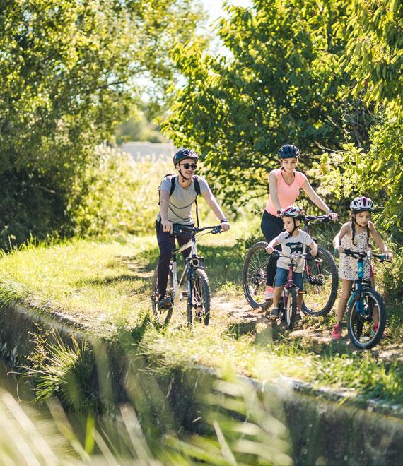 Le vélo avec des enfants @ O'Brien