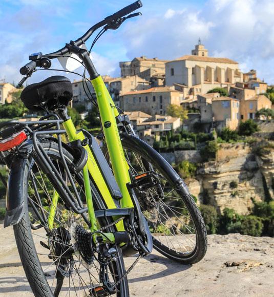 Bike in Gordes
