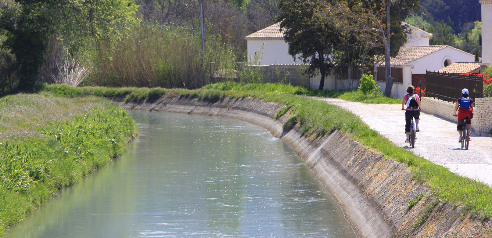 Circuits vélo autour de l'Isle sur Sorgue @ Hocquel