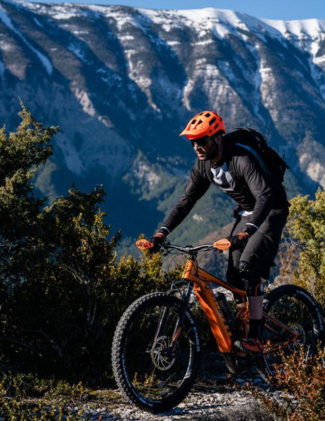 Mountainer biker mont Ventoux